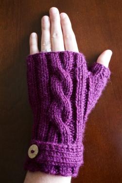 Jammin' Fingerless Mittens - Free Pattern