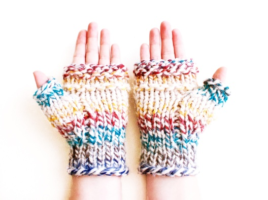 Songbyrdy - Chunky & Cozy Hudson Bay Mitts